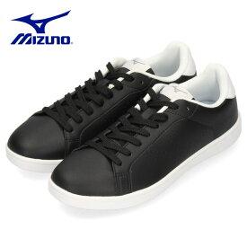 ミズノ MIZUNO スニーカー メンズ レディース ブラック×ホワイト 黒 白 CW1 D1GA208409 ワイズ 3E 幅広 シンプル スポーツ ユニセックス 男女兼用 セール