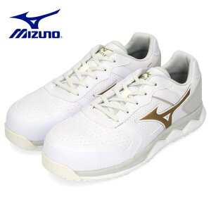 安全靴 ミズノ MIZUNO オールマイティ HW11L 紐タイプ メンズ ワーキングシューズ ホワイト F1GA200001 3E 男性 白