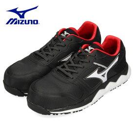 安全靴 ミズノ MIZUNO オールマイティ HW11L 紐タイプ メンズ ワーキングシューズ ブラック F1GA200009 3E 男性 黒