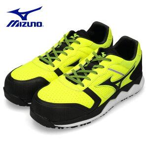 安全靴 ミズノ MIZUNO オールマイティ HW11L 紐タイプ メンズ ワーキングシューズ イエロー F1GA200045 3E 男性 黄色