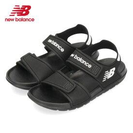 ニューバランス new balance キッズ ジュニア サンダル YOSPSD BK ブラック 21441 黒 セール