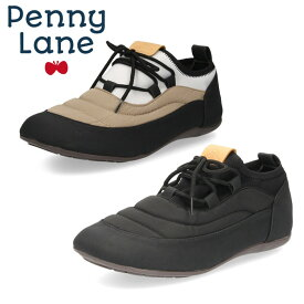ストレッチ モックシューズ ダウンシューズ PENNY LANE 3169 レディース あったか スリッポン ペニーレイン 靴