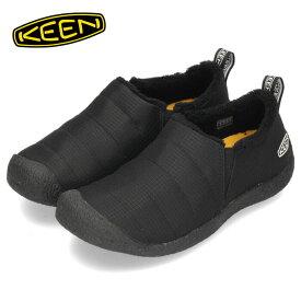 キーン KEEN レディース スニーカー HOWSER 2 ハウザー ツー 1023981 ブラック 黒 【ノベルティプレゼント】