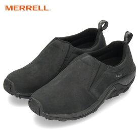 メレル ジャングル モック ゴアテックス MERRELL JUNGLE MOC GORE-TEX J42301 ブラック メンズ スニーカー スリッポン 防水