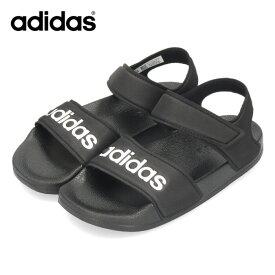 adidas アディダス キッズ サンダル G26879 アディレッタ ADILETTE SANDAL K ブラック セール