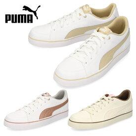 【37%OFF】スニーカー プーマ PUMA レディース キッズ コートポイント バルク COURT POINT VULC V2 BG 362947 白 ホワイト 通学 シューズ 靴 セール
