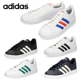 adidas アディダス メンズ レディース スニーカー グランドコートベース GRANDCOURT BASE EE7900 EE7901 EE7904 EE7905 EE7906 ブラック ホワイト ネイビー 通学靴 セール