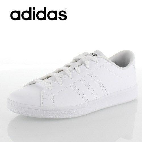 アディダス レディース スニーカー adidas VALCLEAN QT W B44667 バルクリーンQT W ホワイト 靴 2E