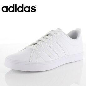 アディダス メンズ スニーカー アディペースVS adidas ADIPACE VS DA9997 ホワイト ローカット シンセティックレザー バスケットシューズ