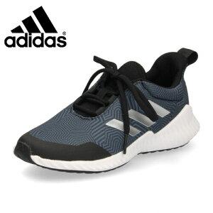 adidas アディダス 靴 G27159 スニーカー FortaRunX 2 K キッズ ジュニア 子供 スポーツ ランニングシューズ ブラック ブルー ランニングシューズ セール