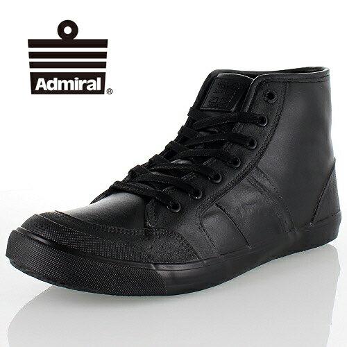 Admiral アドミラル INOMER HI WP イノマーハイ SJAD1699 BLACK ブラック レインシューズ 防水 ハイカット スニーカー メンズ レディース