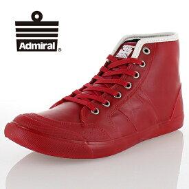 Admiral アドミラル INOMER HI WP イノマーハイ SJAD1699 RED レッド レインシューズ 防水 ハイカット スニーカー メンズ レディース セール