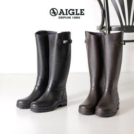 AIGLE エーグル レインブーツ レディース エーグランティーヌ 8880 AIGLENTINE 2 長靴 ロング 正規品 黒 ブラウン ブラック