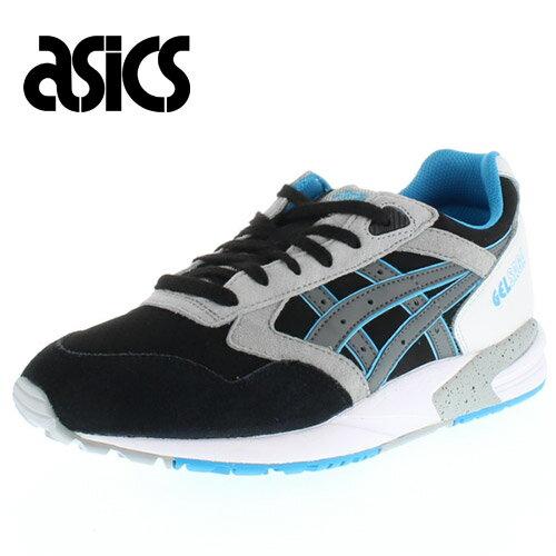 ASICS Tiger アシックス タイガー GELSAGA TQ648L-9011 00648-19 メンズ レディース スニーカー スポーツスタイルシューズ ブラック セール