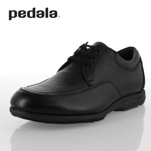 pedala ペダラ asics アシックス メンズ WP427L-90 ブラック 黒 ウォーキングシューズ ビジネスシューズ ゴアテックス 防水 4E 本革