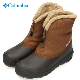 コロンビア Columbia メンズ レディース ブーツ チャケイピ2スリップ オムニヒート YU0282 281 ブラウン 靴 セール