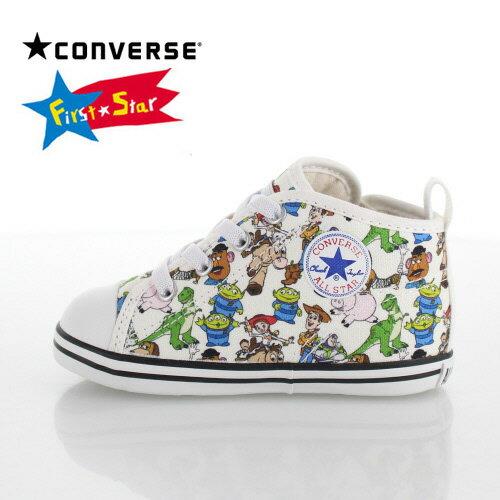コンバース CONVERSE ベビー スニーカーBABY ALL STAR N TOY STORY PT Z トイ・ストーリー7CL110 12780 マルチ ホワイト 白 子供靴