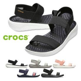 クロックス ライトライド サンダル レディース crocs Women's LiteRide Sandal 205106 スポーツサンダル シャワーサンダル ストラップサンダル バンド ゴム 履きやすい 歩きやすい アウトドア レジャー セール