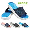 クロックス crocs サンダル レディース メンズ ライトライド スライド literide slide 205183 スポーツサンダル シャ…