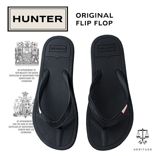 ハンター HUNTER WFD1058EVA オリジナルフリップフロップ ORIGINAL FLIP FLOP 靴 サンダル トング EVA ブラック 黒 レディース ビーチ ビーチサンダル ビーサン シャワサン 旅行