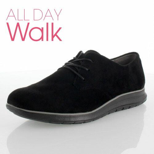 ALL DAY Walk オールデイウォーク 079 靴 ALD790 シューズ スニーカー 撥水加工 1E ベネトン アキレス 黒 ブラック レディース セール