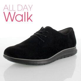 ALL DAY Walk オールデイウォーク 079 靴 ALD790 シューズ スニーカー 撥水加工 ベネトン アキレス 黒 ブラック レディース セール
