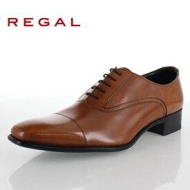 REGAL リーガル 靴 メンズ 725R AL BR 本革 ビジネスシューズ ストレートチップ 内羽根式 ブラウン 紳士靴 日本製