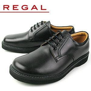 リーガル 靴 メンズ ビジネスシューズ プレーン オブリークトゥ REGAL JJ23 AG ブラック 紳士靴 送料無料 【消臭スプレープレゼント】