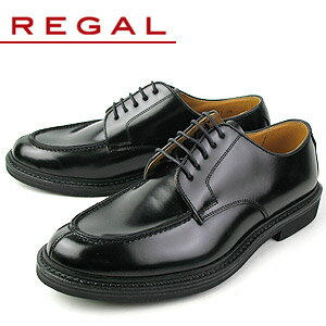 リーガル 靴 メンズ ビジネスシューズ Uチップ REGAL JU15 AG ブラック 紳士靴 送料無料 【消臭スプレープレゼント】