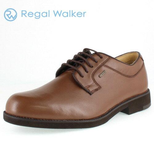 リーガル 靴 メンズ REGAL WALKER リーガルウォーカー 240W BJ ダークブラウン プレーントゥ シューズ 3E-4E ゴアテックス 防水機能 特典B