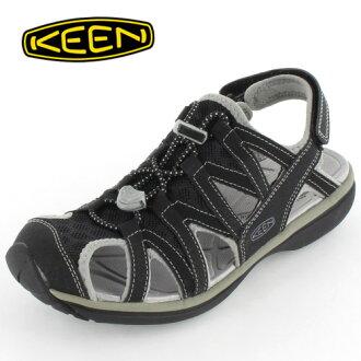 ★30%OFF★KEEN女士涼鞋SAGE SANDAL鼠尾草涼鞋1014682 BLACK/NEUTRAL GRAY