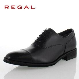 リーガル REGAL 靴 メンズ ビジネスシューズ 35HRBB ブラック ストレートチップ 内羽根式 紳士靴 日本製 3E 本革 防水 特典B