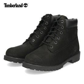 Timberland ティンバーランド シックスインチ プレミアム ブーツ 12907 ブラック ジュニア キッズ 防水