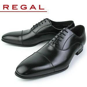 リーガル 【送料無料】 REGAL 011R AL 靴 メンズ ビジネスシューズ 本革 リーガルシューズ ストレートチップ ブラック 紳士靴 特典B