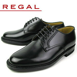リーガル REGAL 靴 メンズ ビジネスシューズ 2504NA ブラック プレーントゥ 外羽根式 紳士靴 日本製 2E 本革 特典B