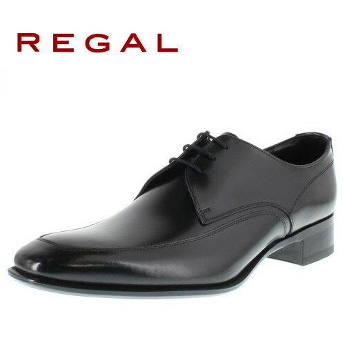 リーガル 【送料無料】 REGAL 727R AL 靴 メンズ ビジネスシューズ Uチップブラック 紳士靴 【消臭スプレープレゼント】