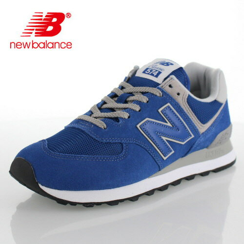 ニューバランス メンズ スニーカー new balance ML574 ERB CLASSIC BLUE ワイズ D