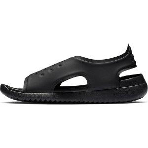 ナイキ サンレイアジャスト 5 NIKE SUNRAY ADJUST 5(GS/PS) AJ9076-001 キッズ ジュニア サンダル ブラック 子供靴 セール