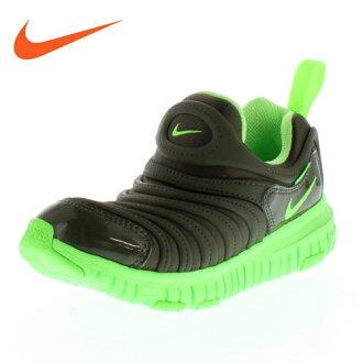 無NIKE耐吉DYNAMO FREE PS發電機343738-303小孩運動鞋懶漢鞋貨物黄褐色