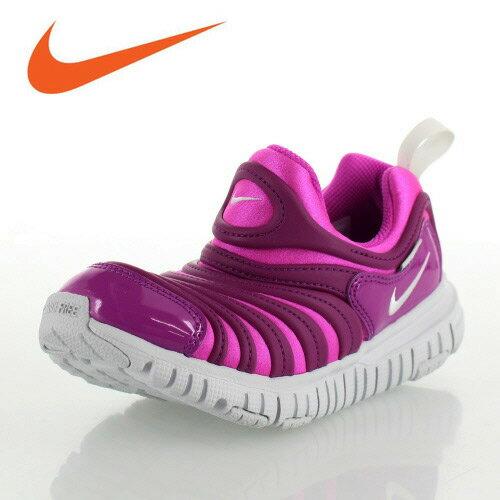 ナイキ ダイナモ フリー NIKE DYNAMO FREE PS 343738-622 キッズ スニーカー スリッポン ピンク 子供靴 靴