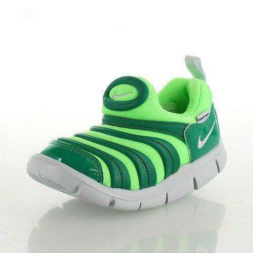 ナイキ ダイナモ フリー NIKE DYNAMO FREE TD 343938-308 ベビー キッズ スニーカー スリッポン グリーン 子供靴 靴