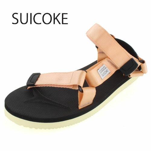 SUICOKE スイコック DEPA/OG-022 SALMON-26 ビブラムソール サンダル ピンク オレンジ メンズ レディース セール