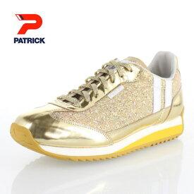 パトリック マラグラム PATRICK MARAGLAM_GLD 717215 メンズ レディース スニーカー 日本製 ゴールド 靴
