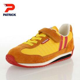 パトリック マラソン ベルクロ ジュニア キッズ スニーカー PATRICK MARATHON-V SSN EN7815-J サンシャイン イエロー 日本製 靴 子供靴