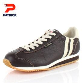 パトリック スニーカー ネバダ 2 PATRICK NEVADA 2 CHO 17513 ブラウン メンズ レディース 靴 本革 日本製