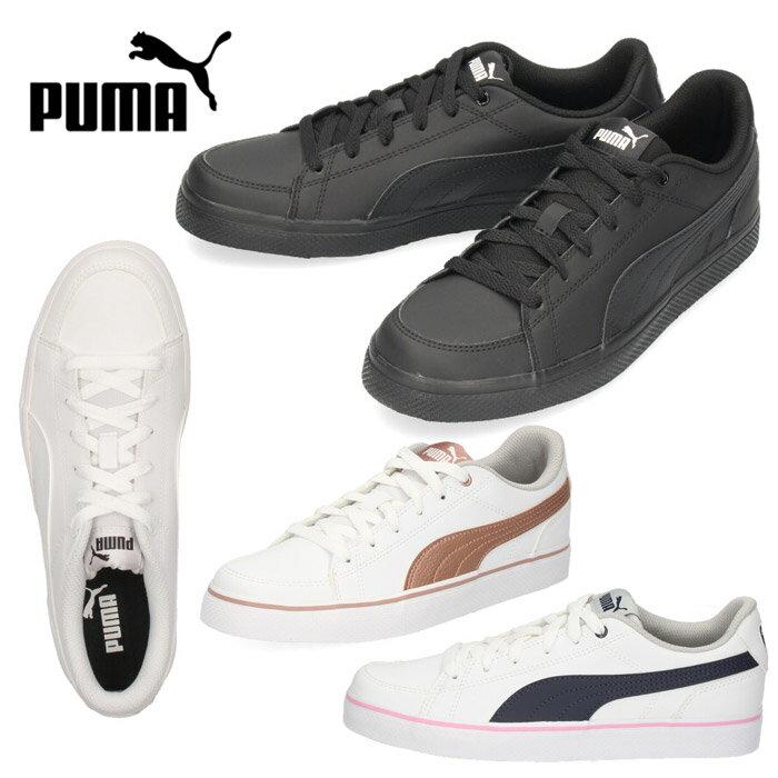 プーマ スニーカー コートポイント バルク puma COURT POINT VULC V2 BG 362947,01 ブラック 黒