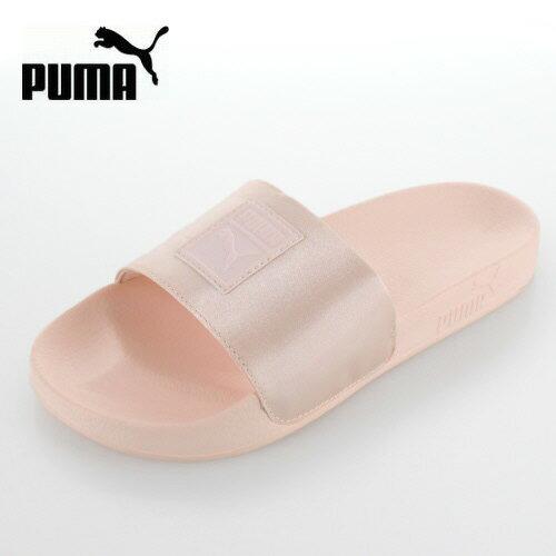 プーマ レディース サンダル puma Leadcat Satin Wns 365338 02 ピンク リードキャット サテン
