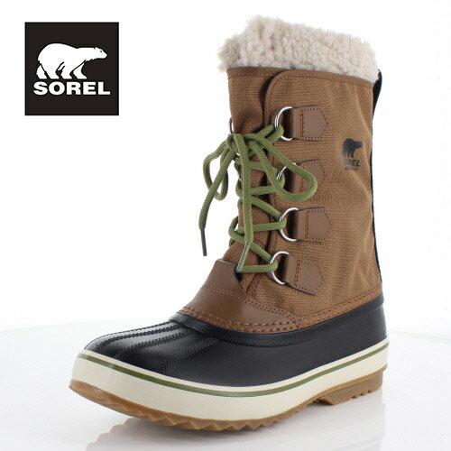 ソレル SOREL NM1440 260 メンズ ブーツ 1964 パックナイロン Pac Nylon ブラウン 防水 防寒 フェルトインナーブーツ ウィンターブーツ セール