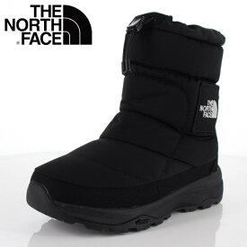 ザ ノースフェイス メンズ レディース ブーツ THE NORTH FACE NF51876 ブラック (KK) ヌプシブーティー ウォータープルーフ Vl ロゴ スノーブーツ 靴 セール