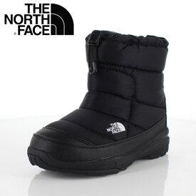 ザ ノースフェイス キッズ THE NORTH FACE NFJ51880 KK K Nuptse Bootie WP 2 ブラック ヌプシブーティー ウォータープルーフ ブーツ ショート